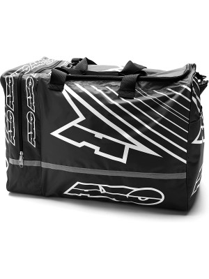 Сумка WEEKENDER GEAR BAG BLACK/WHITE